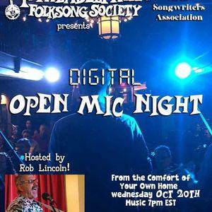 PFS & PASA - Digital Open Mic Night