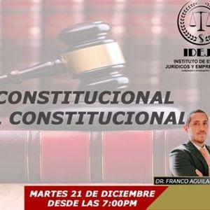 SEMINARIO DERECHO CONSTITUCIONAL