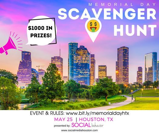 Memorial Day Scavenger Hunt w 1000 in Prizes