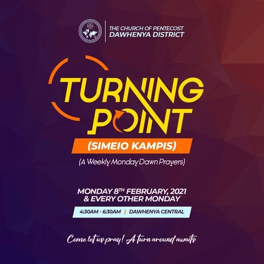 Turning Point (Weekly Monday Dawn Prayers), 8 March | Event in Cape Coast | AllEvents.in