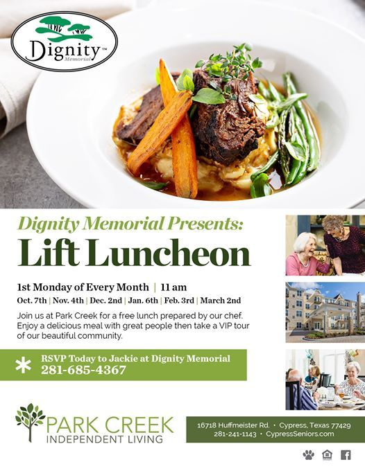 Dignity Memorial Presents Lift Luncheon