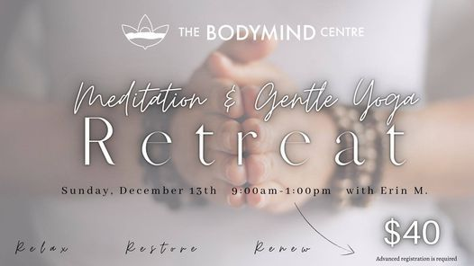 Meditation & Gentle Yoga Retreat, 13 December | Event in Thunder Bay | AllEvents.in