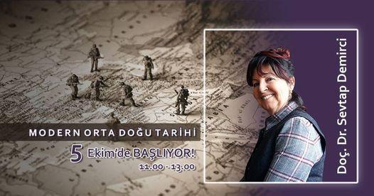 SOFOS'ta Sevtap Demirci ile Modern Orta Doğu Tarihi, 10 May   Event in Tekirdað   AllEvents.in