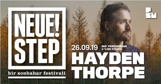 Hayden Thorpe - Neue Step