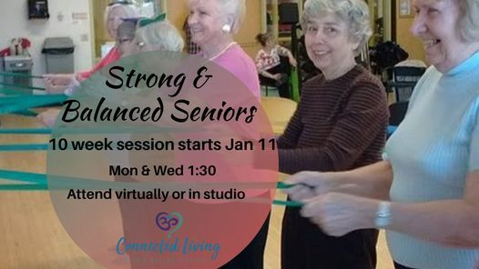 Strong & Balanced Seniors | Event in Markstay | AllEvents.in