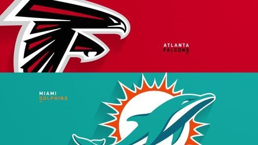 NFL Viewing Party: Miami Dolphins Vs Atlanta Falcons   Event in Fort Lauderdale   AllEvents.in