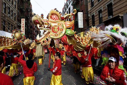 NYC Lunar New Year Parade
