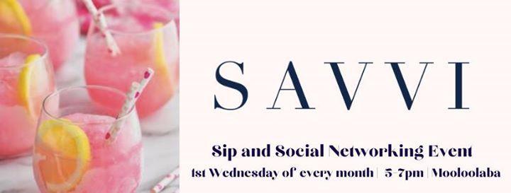 Mooloolaba Savvi Soiree - Free Sip and Social Networking