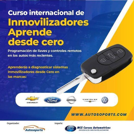 Curso de Inmovilizadores | Desde 0, 15 March | Event in Suba | AllEvents.in