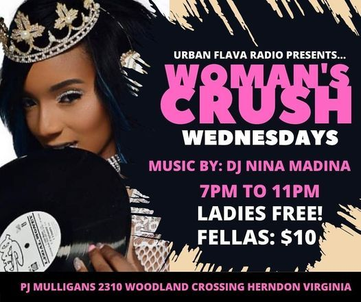 Crush Woman Wednesday, 14 April | Event in Herndon | AllEvents.in