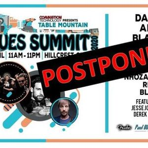 Table Mountain BLUES Summit 2021 - DATE TO BE CONFIRMED