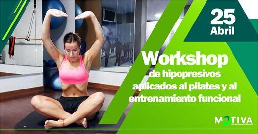 Work shop Hipopresivos aplicados al Pilates y Entren Funcional