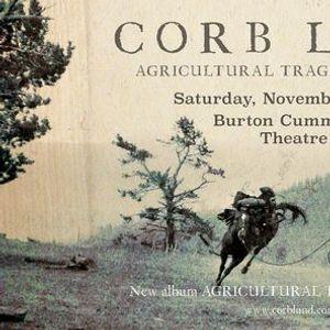 Corb Lund Agricultural Tragic Tour 2020