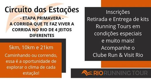 Circuito Estaes - Primavera  2019 - Confirme sua presena