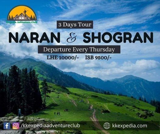 3 Days Trip to Naran shogran babusartop | Event in Muzaffarabad | AllEvents.in