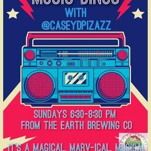 Music Bingo with Casey D Pizazz