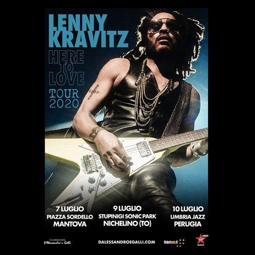 Lenny Kravitz live a Perugia