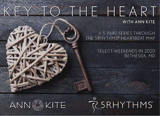 Key to the Heart Part 1 Fear - 5 Rhythms Heartbeat Workshop