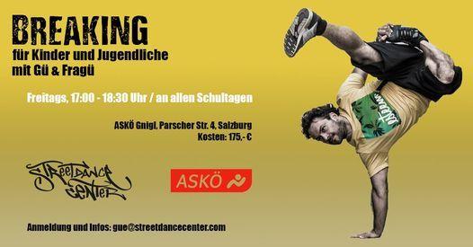 Breaking Kurs für Kinder und Jugendliche, 29 January   Event in Salzburg   AllEvents.in