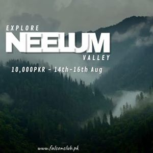 3 Days tour to Neelum Valley  Taobut 14th August