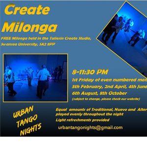Create Milonga Free Milonga in Swansea (Online)