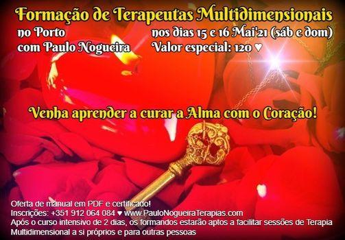 Curso de Terapia Multidimensional no Porto em Mai'21, 15 May | Event in Porto | AllEvents.in