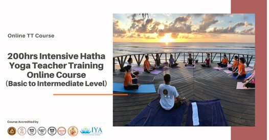 200hrs Intensive Hatha Yoga Teacher Training Course -Online | Event in Chennai | AllEvents.in