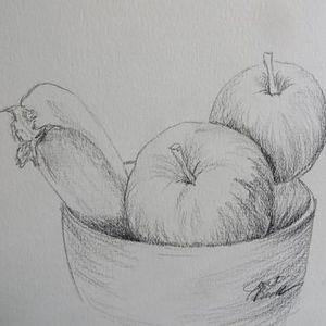 Still Life Fruit Bowl  Virtual PWJ  Free