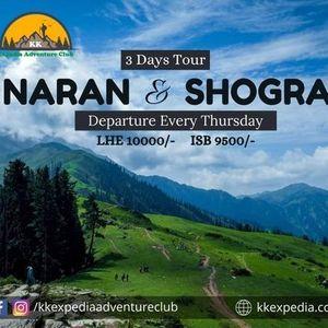 3 Days Trip to Naran shogran babusartop