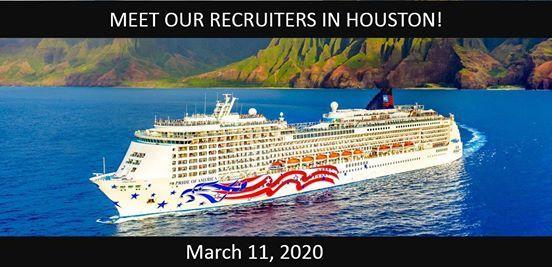 Norwegian Cruise Line Recruiting Event in Houston TX