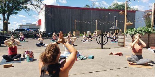 Solstice Yoga  + Beer/Kombucha at Ursa Minor, 20 June   Event in Duluth   AllEvents.in