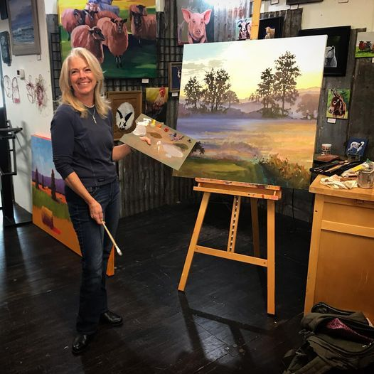 Introduction to Oil Painting with Beth Roy, 15 March | Event in Vass | AllEvents.in