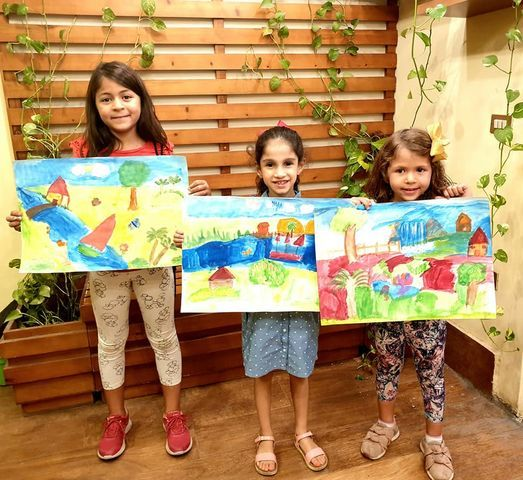 Kids Art course (16 Hrs), 2 October   Event in Ramadan 10 City   AllEvents.in