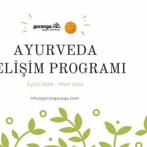 Ayurveda Geliim Program Eyll 2020-Mart 2021