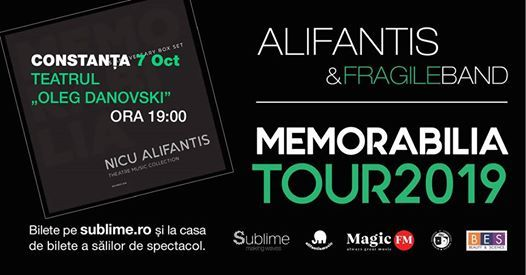 Turneu Naional Alifantis i Fragile Band la Constana