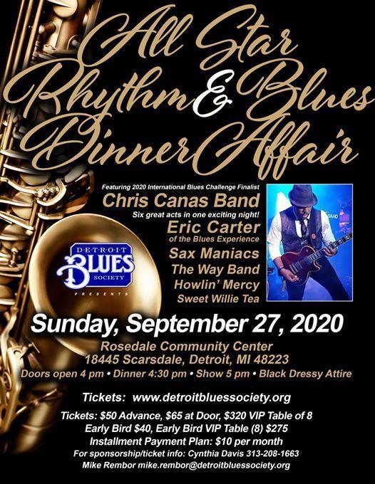 All Star Rhythm & Blues Dinner Affair