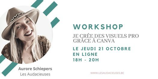 Je crée des visuels pro grâce à Canva, 21 October   Online Event   AllEvents.in
