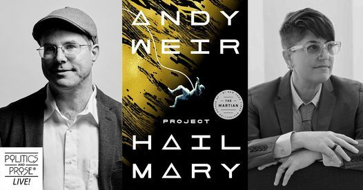 P&P Live! Andy Weir | Project Hail Mary with Annalee Newitz, 10 May | Online Event | AllEvents.in