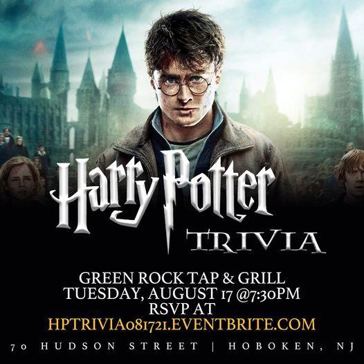 Harry Potter (Movie) Trivia, 17 August | Event in Hoboken | AllEvents.in
