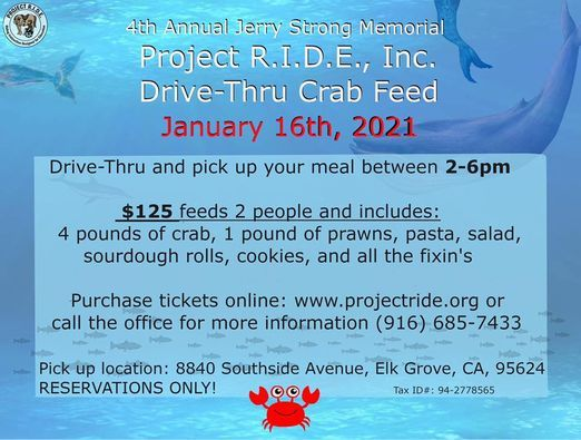 Drive-Thru Crab Feed | Event in Elk Grove | AllEvents.in