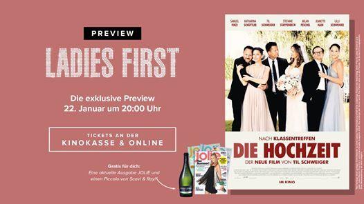 Ladies First: Die Hochzeit
