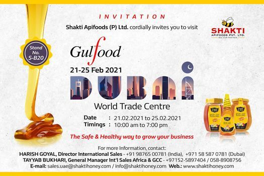 Gulf food 2021 | Event in Abu Dhabi | AllEvents.in