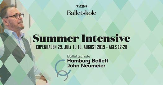 Tivoli Ballet School Summer Intensive (age 15-20)