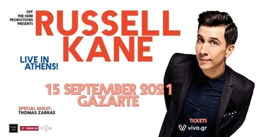 Russell Kane: Live in Athens | Event in Athens | AllEvents.in