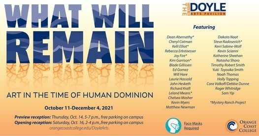 What Will Remain: Art in the Time of Human Dominion | Event in Irvine | AllEvents.in