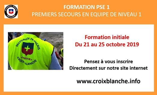 Formation initiale PSE 1