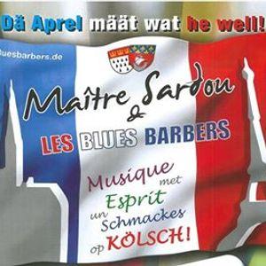 Maitre Sardou & les Bluesbarbers - Musique met Esprit op Klsch