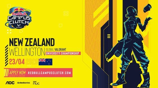 Red Bull Campus Clutch - Wellington Qualifiers, 23 April | Event in Wellington | AllEvents.in
