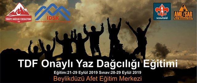 TDF Onayl Yaz Dacl Eitimi