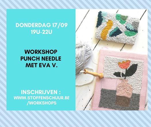 Workshop punch needle